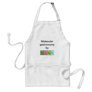Georges periodic table name apron