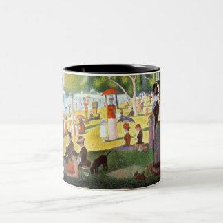 georges seurat - a sunday afternoon fine art mug
