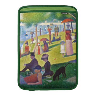 Georges Seurat - A Sunday Afternoon.... MacBook Air Sleeve