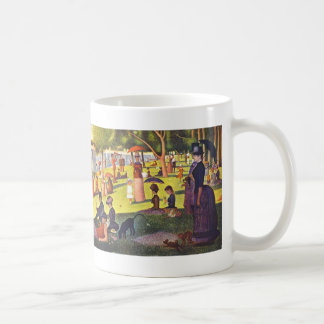 Georges Seurat- 'A Sunday on La Grande Jatte' Classic White Coffee Mug