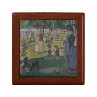 Georges Seurat - A Sunday on La Grande Jatte Keepsake Box