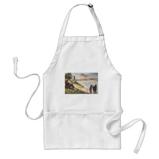 Georges Seurat- Boy with horse Aprons