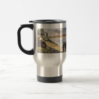 Georges Seurat- Boy with horse Coffee Mugs