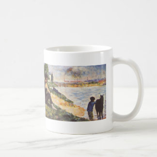 Georges Seurat- Boy with horse Mug