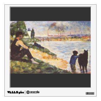 Georges Seurat- Boy with horse Room Stickers
