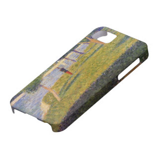 Georges Seurat- Cadet From Saint-Cyr iPhone 5 Cover