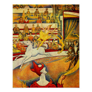 Georges Seurat-Circus Poster