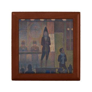 Georges Seurat - Circus Sideshow Keepsake Box