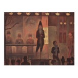 Georges Seurat- Circus Sideshow Postcards