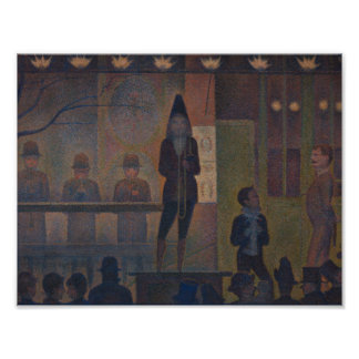 Georges Seurat - Circus Sideshow Poster