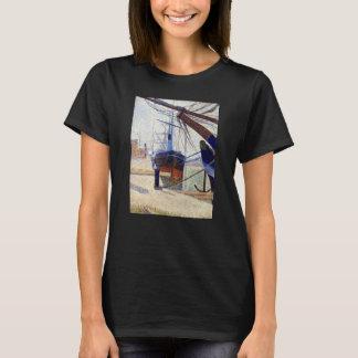 Georges Seurat Corner of the Harbor of Honfleu T-Shirt