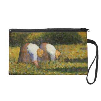 Georges Seurat- Farm Women at Work Wristlet