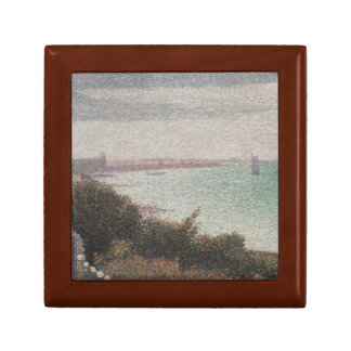 Georges Seurat - Grandcamp, Evening Keepsake Box