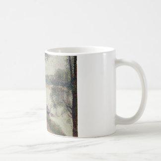 Georges Seurat - Gray Weather, Grande Jatte Coffee Mug