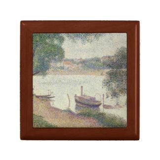 Georges Seurat - Gray Weather, Grande Jatte Gift Box