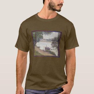 Georges Seurat Gray weather, Grande Jatte T-Shirt