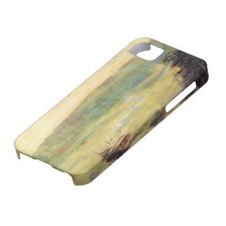 Georges Seurat- Landscape at Saint-Ouen iPhone 5 Case
