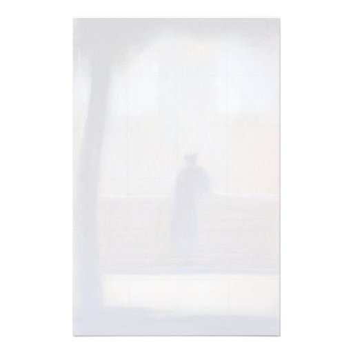 Georges Seurat- Man leaning on a parapet Stationery