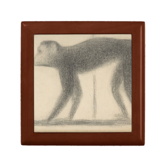 Georges Seurat - Monkey Gift Box