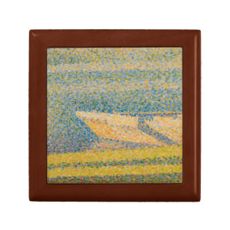 Georges Seurat - Moored Boats and Trees Gift Box