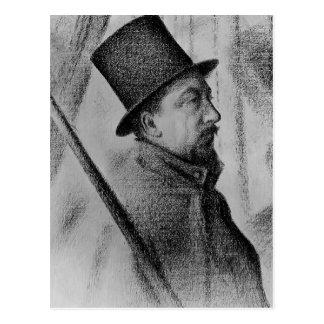 Georges Seurat- Portrait of Paul Signac Post Cards