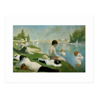 Georges Seurat Post Card