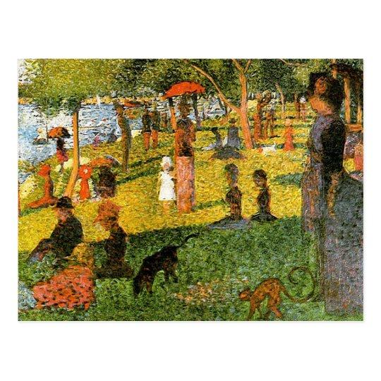 Georges Seurat Postcard