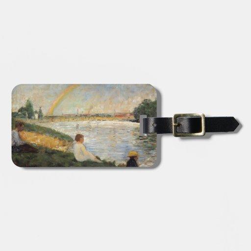 Georges Seurat- Rainbow Bag Tag