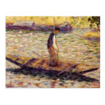 Georges Seurat- Riverman Post Cards