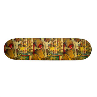 Georges Seurat s The Circus 1891 Skateboards