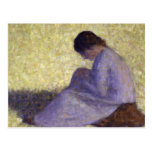Georges Seurat - Seated Woman Post Cards