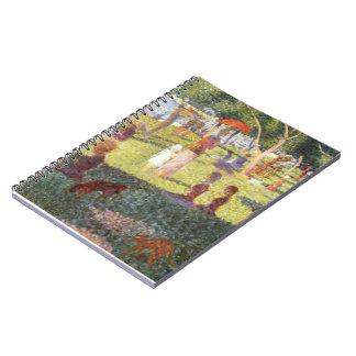 Georges Seurat-Sketch for Sunday Noon,Grande Jatte Spiral Notebook