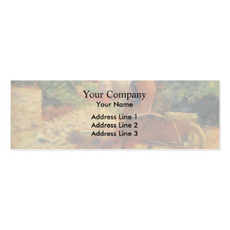 Georges Seurat- Stone Breaker and Wheelbarrow Business Card