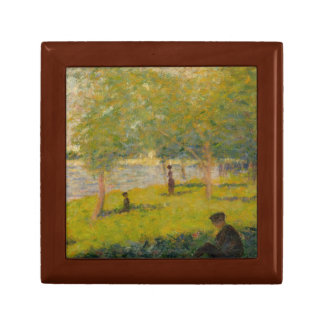 Georges Seurat - Study for A Sunday on La Grande Gift Box