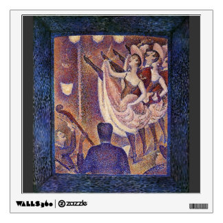 Georges Seurat- Study for 'Chahut' Wall Graphic