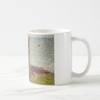 Georges Seurat - Study for Le Bec du Hoc Coffee Mug