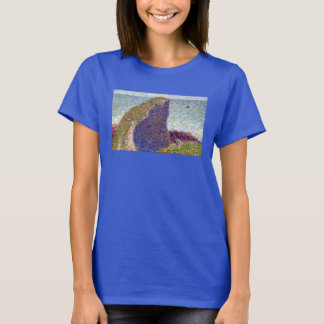 Georges Seurat Study for Le Bec du Hoc, Grandcamp T-Shirt