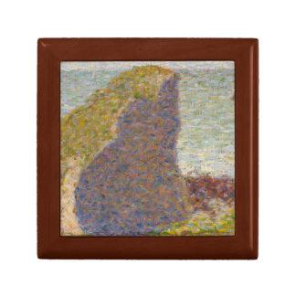 Georges Seurat - Study for Le Bec du Hoc Keepsake Box