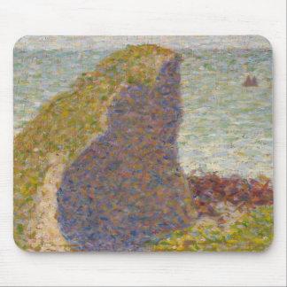 Georges Seurat - Study for Le Bec du Hoc Mouse Pad