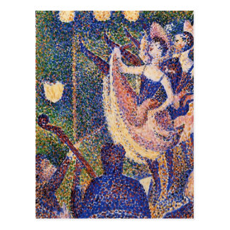Georges Seurat- Study for The Chahut Postcard