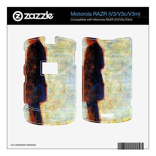 Georges Seurat - Sunday at the Grand Jatte study o Skin For Motorola RAZR