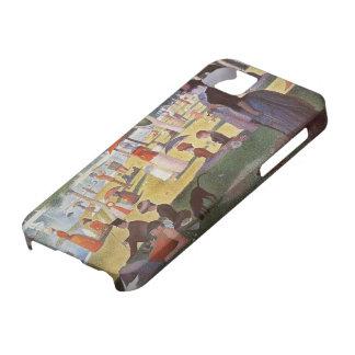 Georges Seurat-Sunday noon,La Grande Jatte Island iPhone SE/5/5s Case