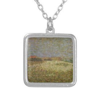 Georges Seurat- The away Samson in Grandcamp Necklaces