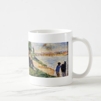 Georges Seurat- The Black Horse Coffee Mugs