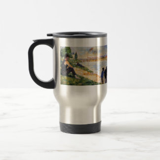 Georges Seurat- The Black Horse Coffee Mug