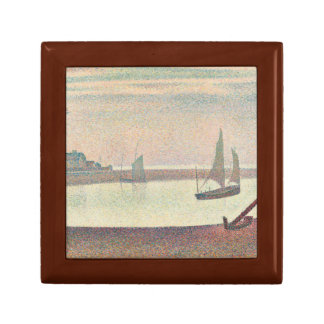 Georges Seurat - The Channel at Gravelines Jewelry Box