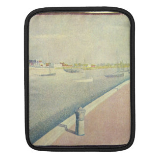 Georges Seurat - The channel of Gravelines Petit-F Sleeve For iPads