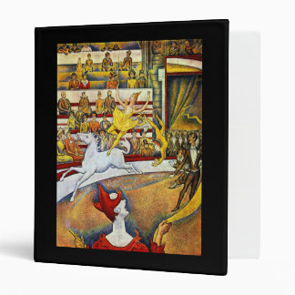Georges Seurat - The Circus 3 Ring Binder