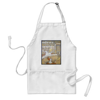 Georges Seurat - The Circus Adult Apron