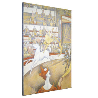 Georges Seurat - The Circus Canvas Print